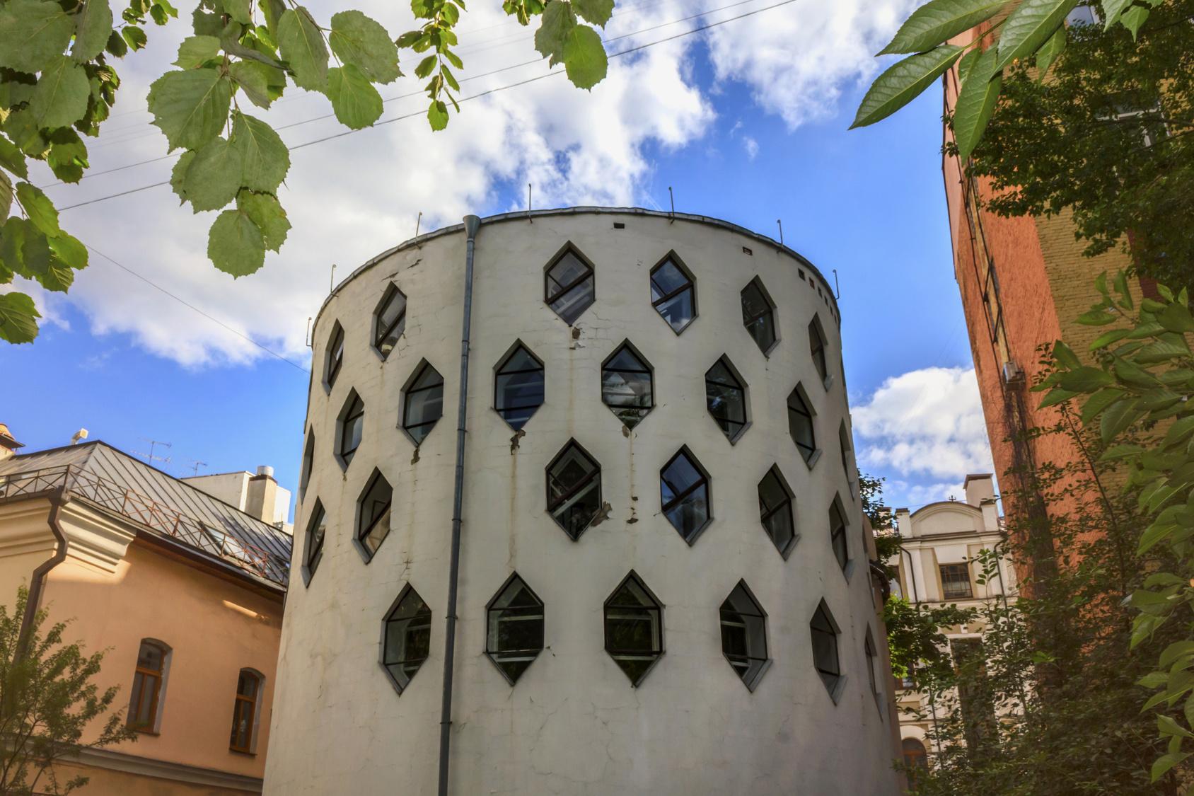 Hidden treasures of constructivist architecture in Moscow
