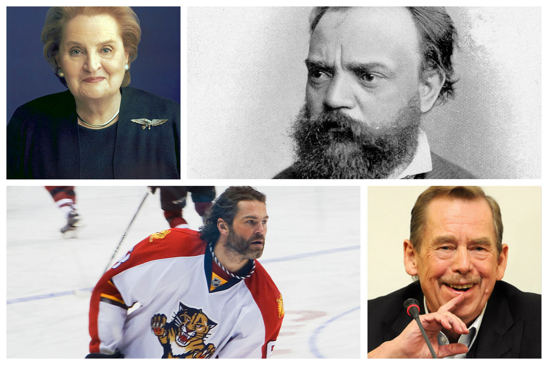 Seven famous people with Czech origin