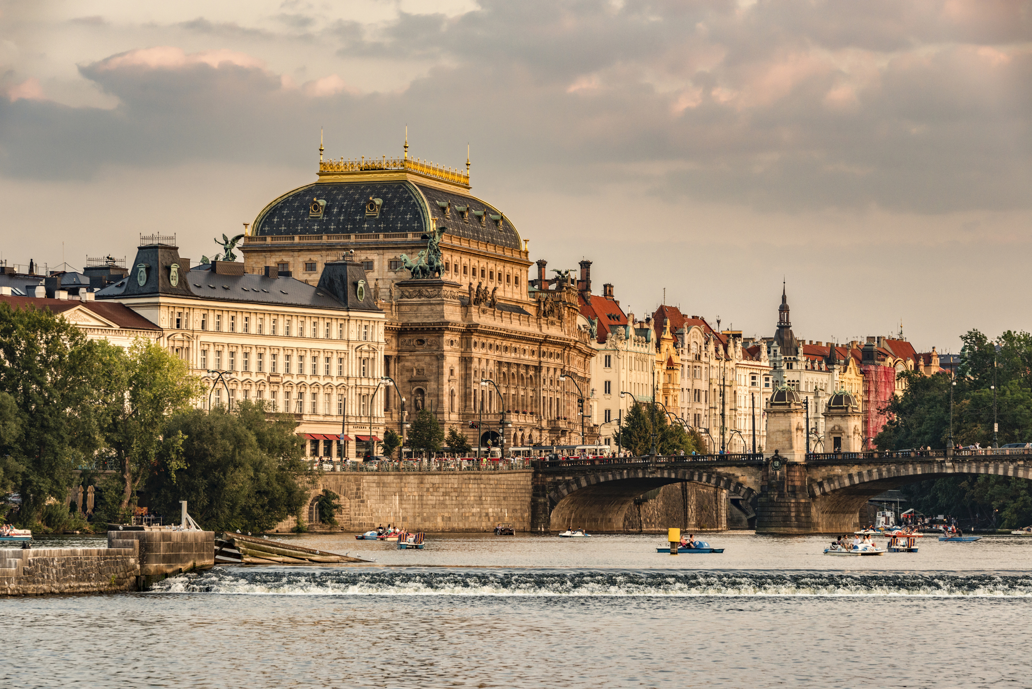 The National Theatre: Prague's pride, a gift from the Czechs to themselves