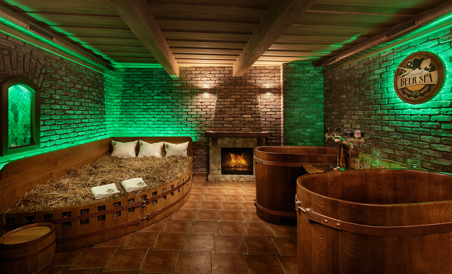 A spa in Bohemia? Yes, and preferably a beer spa!