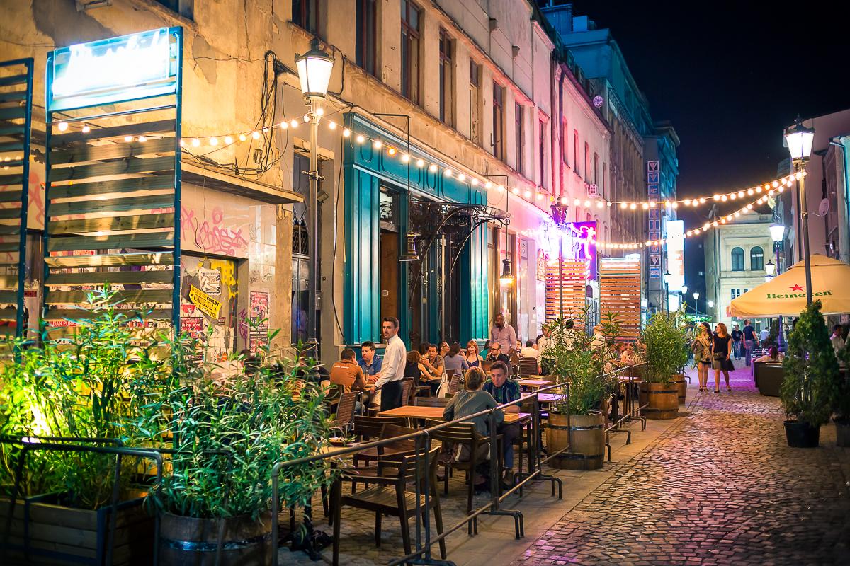 Get some rest in Bucharest!