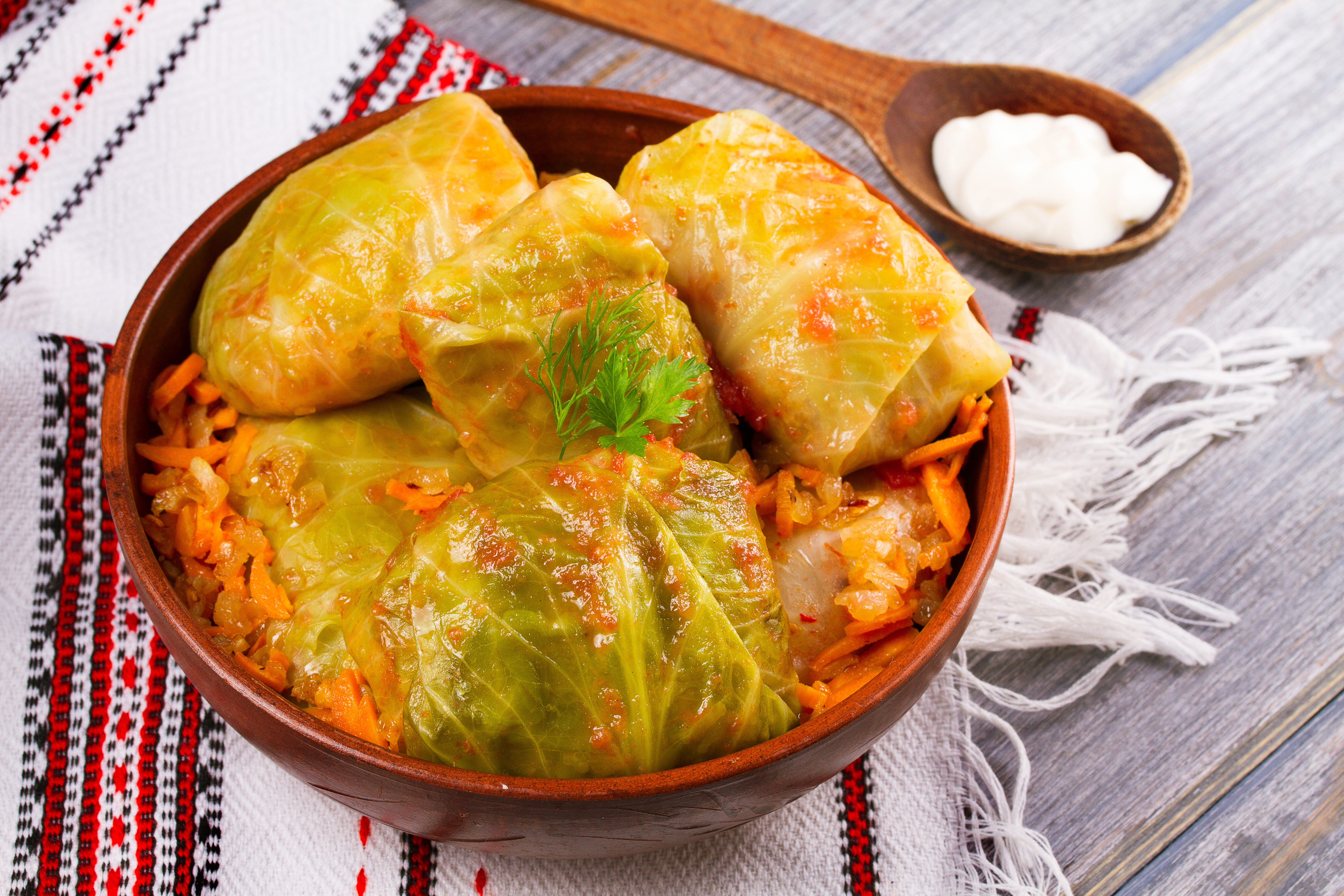 Sarmale, a symbol of the delicious mix Romanian gastronomy has to offer