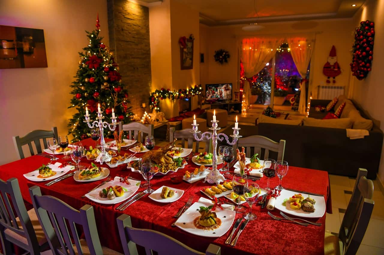 A traditional New Year's Eve in Albania