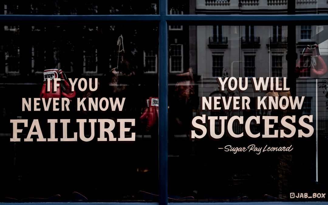 A culture of failure, or why you should not be afraid to make mistakes